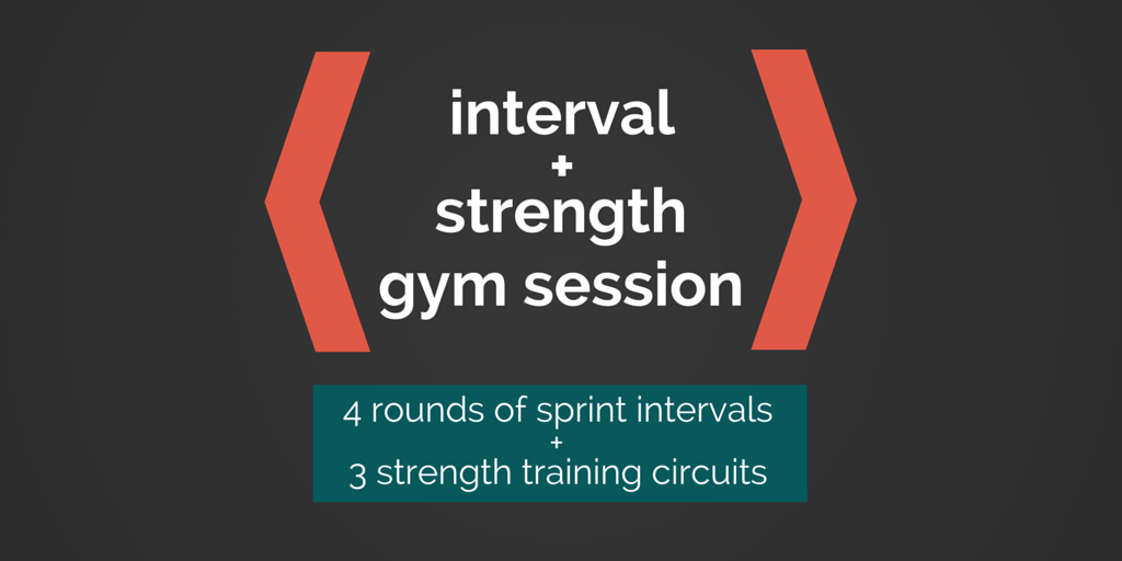 Interval strength gym session just j faye