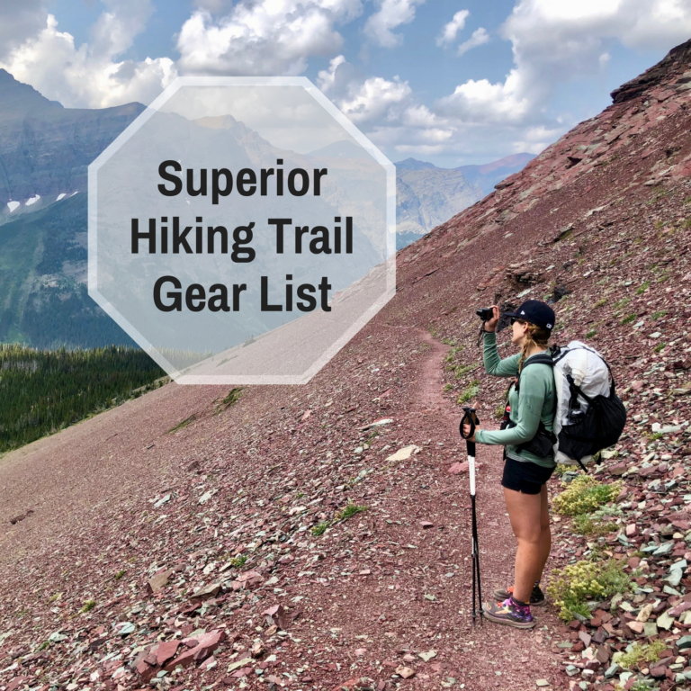 Superior Hiking Trail Gear List - Just J.Faye